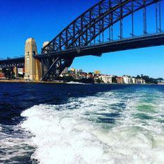 Good morning Sydney  #sydneyharbour #sydneyharbourbridge #onthewater #goodfriends #memories #morning #livinlife by phoenix_delray_ http://ift.tt/1NRMbNv
