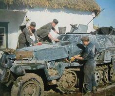 Sd kfz 251/1 ausf C in Ukraine, pin by Paolo Marzioli