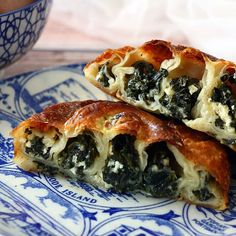 Pastry Dishes, Savory Pastry, Savoury Baking, Pastry Recipes, Dessert Recipes, Greek Recipes, Vegan Recipes, Cooking Recipes, Israeli Food