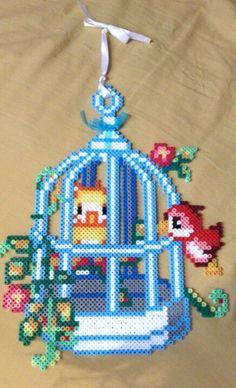 Hama bead decoration