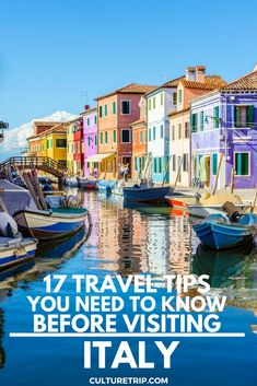 17 Italy Travel Tips That Might Save Your Life|Pinterest: @theculturetrip