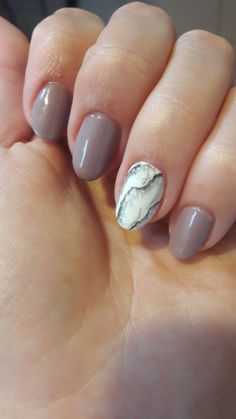 #nails #oval #marble
