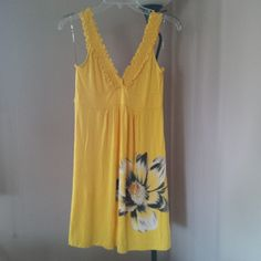 e9810832780 Charming Charlie s sun dress Yellow Sundress