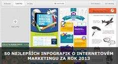 50 nejlepších infografik o internetovém marketingu z roku 2013