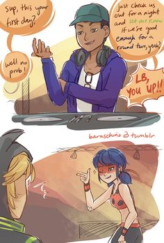 Miraculous: Tales of Ladybug and Cat Noir) Beginnings 3 Ladybug E Catnoir, Comics Ladybug, Ladybug Anime, Beste Comics, Lady Bug, Adrien Agreste, Miraculous Ladybug Fan Art, Marinette And Adrien, Cat Noir