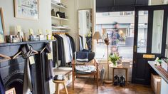 The Monocle shop in Marylebone looks so cozy!