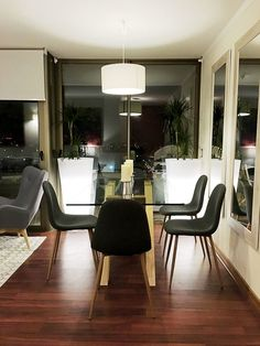 Decoración de living comedor minimalista
