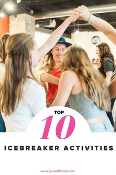 Looking for the perfect icebreaker for your group? Look no further! Here's our top 10 favorite games to break the ice! Fun Icebreakers, Icebreaker Activities, Icebreakers For Women, Leadership Activities, Counseling Activities, Group Activities, Sensory Activities, Girl Scout Troop, Girl Scouts