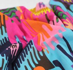 Color!! Cotton Blouse Weight – Multi Brights | Gorgeous Fabrics