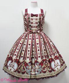 Wonder Queen Special ジャンパースカートSet