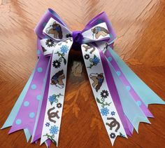Pony Kids Horse Show Hair Bows by BowdanglesShowBows on Etsy