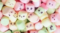 Kawaii Marshmallows Wallpaper by Sarchotic - - Free on ZEDGE™ Cute Food Wallpaper, Cute Wallpaper For Phone, Emoji Wallpaper, Kawaii Wallpaper, Disney Wallpaper, Galaxy Wallpaper, Mobile Wallpaper, Wallpaper Backgrounds, Iphone Backgrounds