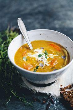 Corn & Sweet Potato Soup