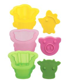 Take a look at this Farm Animal Ice Cream Sandwich Mold Set by Tovolo on #zulily today!