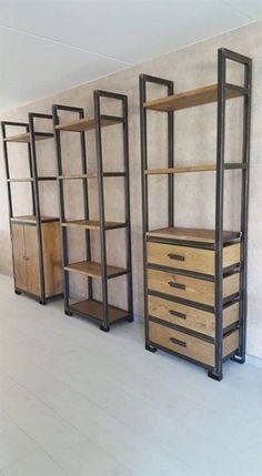 Industrial closet shelving units 2019 Industrial closet shelving units The post Industrial closet shelving units 2019 appeared first on Curtains Diy. Industrial Closet, Industrial Windows, Industrial Apartment, Industrial Interiors, Industrial Lighting, Industrial Furniture, Kitchen Industrial, Kitchen Lighting, Industrial Shelving