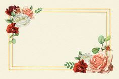 Pink Roses Background, Flower Background Wallpaper, Orange Background, Flower Backgrounds, Instagram Background, Instagram Frame, Rose Frame, Flower Frame, Wedding Doorgift