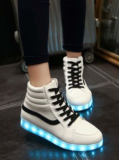 simple style campus shoes with LED light!! Cant wait to buy these shoes!!
