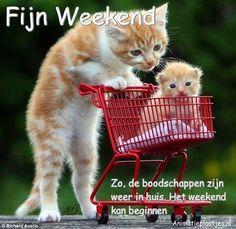 Facebook-plaatjes, fijn weekend, gezellig weekend voor Facebook van Animatieplaatjes.nl