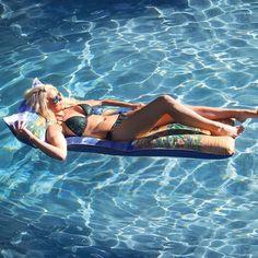Margaritaville Float for Swimming Pools, White