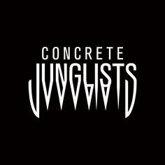 Our type logo, because we got teeth.   Concrete Junglists drum and bass streetwear company. www.concretejunglists.com