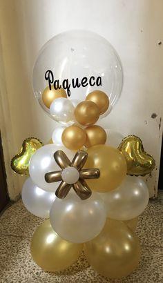 Balloon Bouquet, Balloons, Sculptures, Nice, Party, Ideas, Balloon Tower, Globe Decor, Balloon Decorations Party