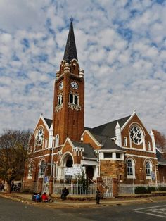 NGK Jeppestown Church Building, Famous Places, My Land, Mosques, Cathedrals, Continents, All Over The World, Big Ben, South Africa