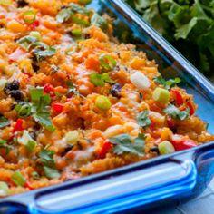 Black Bean Quinoa Casserole - iFOODreal - Healthy Family Recipes