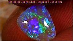 GEM Class Black Crystal Opal 1,66 ct