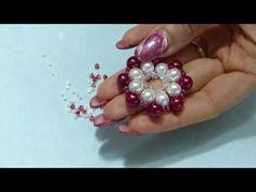 DIY tutorial collana fai da te ciondolo con perle e perline a raggi ita-English - YouTube