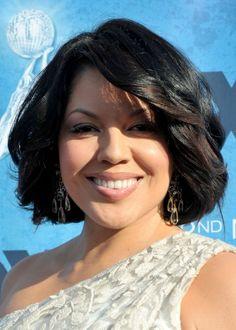 Sara Ramirez - awesome singer and actress on grey's anatomy. :)