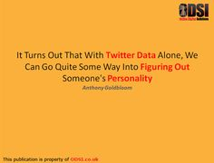 Big Data Quote about social media