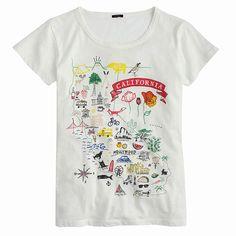 567eb7e2 California Shirt, California Style, J Crew T Shirts, Cool T Shirts,  California