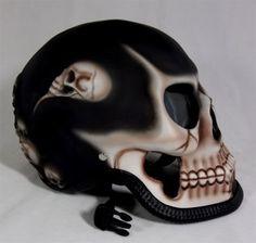 Motor Bike Skull Helmet :)