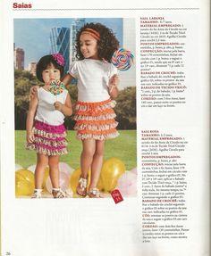Mania de Tricotar: Saia de crochê  https://mania-de-tricotar.blogspot.com.br/search/label/Saia%20de%20croch%C3%AA