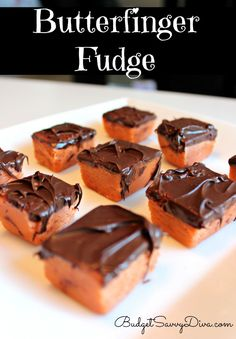 Are you a fan of Butterfingers? Then this recipe is for you. Simple to make --- even the kids can help!