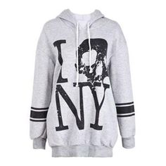 Hoodies/Sweatshirts - Striped Skull & Letters Print Grey Hoodie #Pariscoming #Paris #fallfashion #fallstyle #falltrends #fallingfor #fall #winterfashion #winterstyle #wintertrends #winterfor #winter #cardi #clothing #inspirational #fashionable #ontrend #stylist #Styling #StreetStyleSeason #streetstyle #fashionblog #fashiondiaries #fashiondiary #WearIt #WhatYouWear If you like,follow me back and find it on our online store.