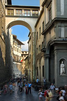 The Uffizi, Florence, Italy