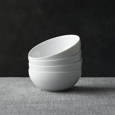"Set of 4 Bistro 6"" Bowls - great for breakfast cereal/ yoghurt"