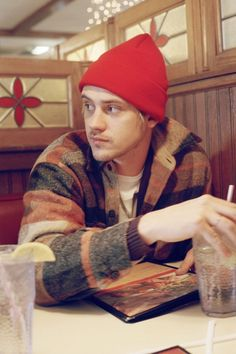 If he were in a diner somewhere as a lumberjack ahaha