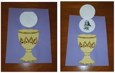 Eucharist craft and great games to test the kids' knowledge.
