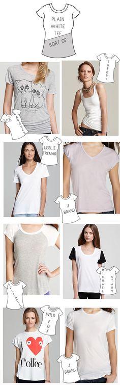 Plain White Tees (Sort Of)… My Top 8 T-Shirt Picks For Summer!