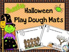 Free If your students love play dough and Halloween as much as we do, they will have so much fun creating Halloween scenes on these play dough picture mats. Integrating high interest topics with content areas is a great way to increase attention span and deepen learning.