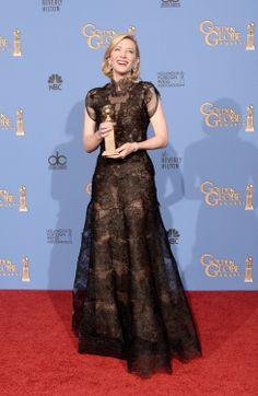 Cate Blanchett. Armani