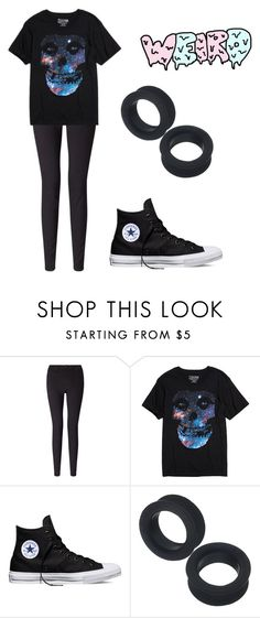 """""""I can see The Death Ray Within your eyes"""" by xxghostlygracexx ❤ liked on Polyvore featuring 7 For All Mankind and Converse"""