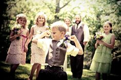 Blended family wedding <3 themarriedapp.com hearted <3