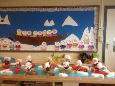noordpool kleuters Eskimo, Arctic, Winter Wonderland, December, Children, Images, Crafts, Polo, Winter Time