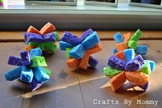 Fun and easy-to-make bath toys!