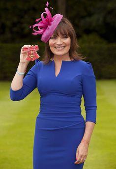 Lorraine Kelly. OBE.  Lydia Dress  www.divacatwalk.com
