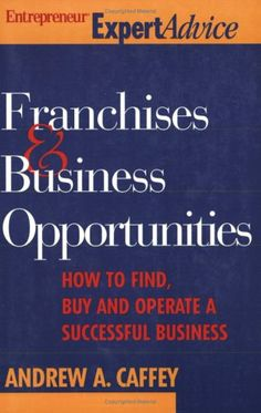 Franchise & Business Opportunities (Entrepreneur « Library User Group