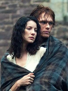 Outlander's Jamie Fraser and Claire Randall